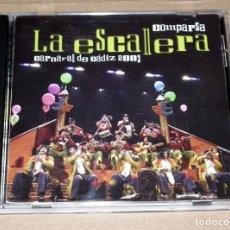 CDs de Música: CD COMPARSA CARNAVAL DE ROTA LA ESCALERA. Lote 195612428