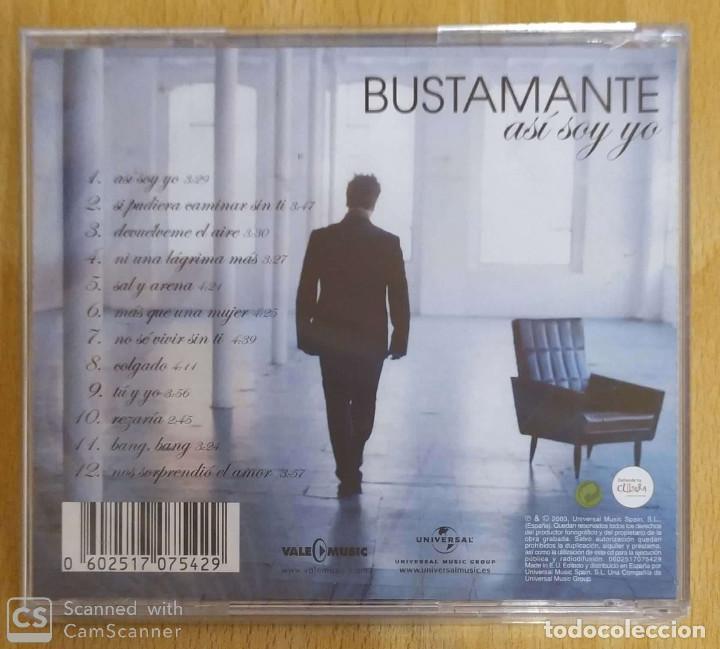 CDs de Música: DAVID BUSTAMANTE (ASI SOY YO) CD 2003 * Precintado - Foto 2 - 195632261