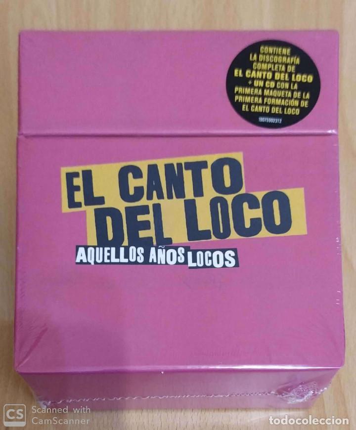 EL CANTO DEL LOCO (AQUELLOS AÑOS LOCOS) 6 CD'S 2018 * PRECINTADO - DANI MARTIN (Música - CD's Pop)