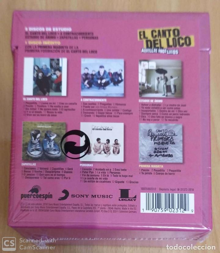 CDs de Música: EL CANTO DEL LOCO (AQUELLOS AÑOS LOCOS) 6 CDs 2018 * Precintado - DANI MARTIN - Foto 2 - 195639876