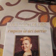 CDs de Música: COLECCION DE ORO. PAQUITA LA DEL BARRIO. EDICION DE 2003 MEJICANA. RARA Y COTIZADA.. Lote 195643442