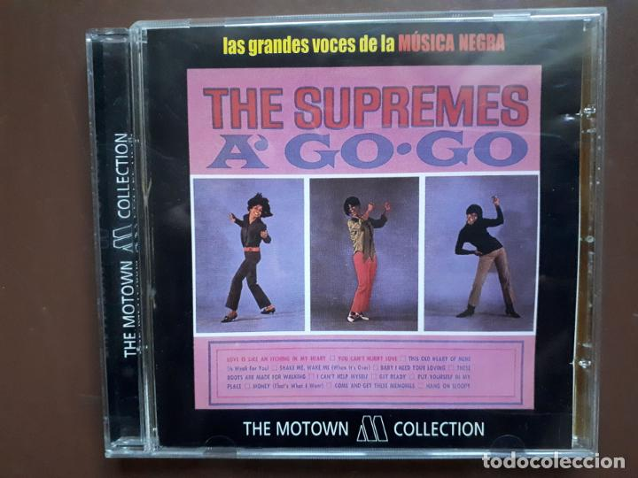 THE SUPREMES - A' GO-GO - THE MOTOWN COLLECTION (Música - CD's Jazz, Blues, Soul y Gospel)