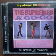 CDs de Música: THE SUPREMES - A' GO-GO - THE MOTOWN COLLECTION. Lote 195655755