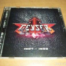 CDs de Música: GEYSER CD 1989-1990*FIRMADO* RARE SPANISH HEAVY 80S,SOLO 100 COPIAS-AVALANCH-MAGO DE OZ-MANZANO-OBUS. Lote 195677212