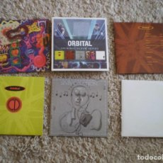 CDs de Música: CAJA 5 CD´S ORBITAL. MUY BUENA CONSERVACION. Lote 195697608
