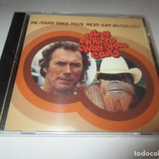 CDs de Música: ANY WHICH WAY YOU CAN - SOUND TRACK MUSIC FROM CLINT EASTWOOD'S 1980/2013 USA CD. Lote 195733495