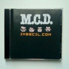 CDs de Música: M.C.D. - IMBECIL.COM, ZERO RECORDS (3) ?– 079.2, 2001. EUSKAL HERRIA.. Lote 195929202