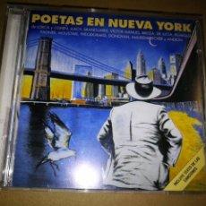 CDs de Musique: POETAS EN NUEVA YORK CD ALBUM LORCA LEONARD COHEN LLUIS LLACH ANGELO BRANDUARDI PACO DE LUCIA. Lote 195966580