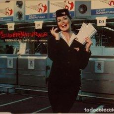 CDs de Música: THE SUPERNATURALS - PREPARE TO LAND. Lote 195975006