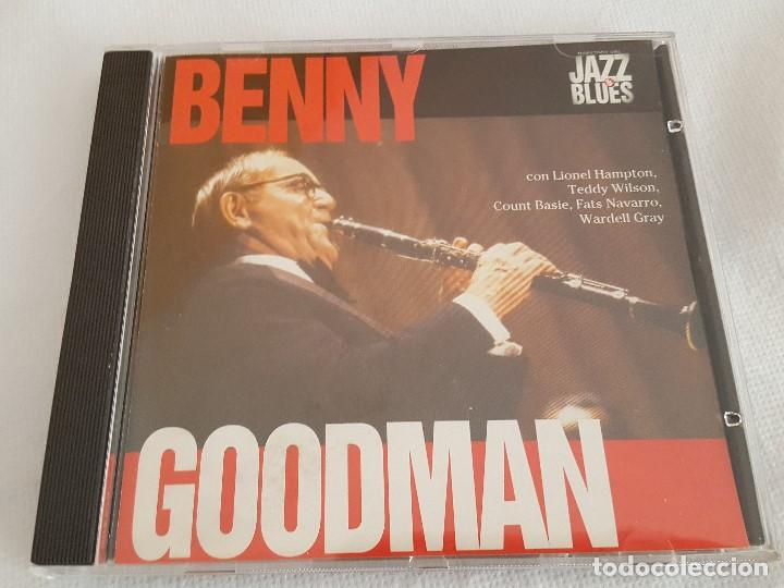 CD / JAZZ & BLUES Nº 18 BENNY GOODMAN, NUEVO (Música - CD's Jazz, Blues, Soul y Gospel)