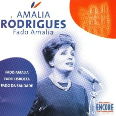 CDs de Música: AMALIA RODRIGUES - FADO AMALIA - CD ALBUM - 16 TRACKS - ENCORE 2004. Lote 195992481