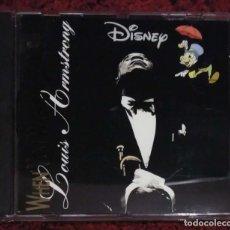 CDs de Música: DISNEY CON LOUIS ARMSTRONG (WHEN YOU WISH UPON A STAR) CD 1995. Lote 196017755