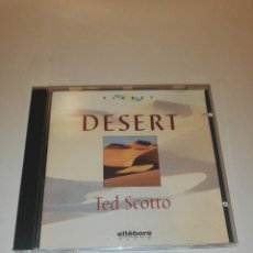 CDs de Música: TED SCOTTO, DESERT . Lote 196021427