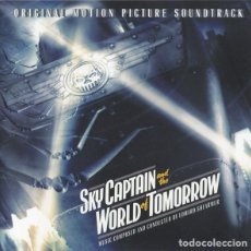 CDs de Música: SKY CAPTAIN AND THE WORLD OF TOMORROW / EDWARD SHEARMUR CD BSO. Lote 196021882