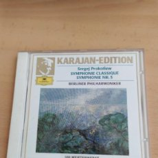 CD de Música: KAAJAN EDITION SEGEF PROKOLIEW SINFONIA N. 5 . Lote 196069103