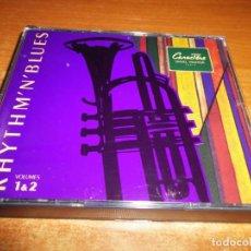 CDs de Música: RHYTHM´N´BLUES VOLUMES 1-2 DOBLE CD ALBUM PROMO UK BB KING JAMES BROWN RAY CHARLES BILLY OCEAN 2 CD. Lote 196114666