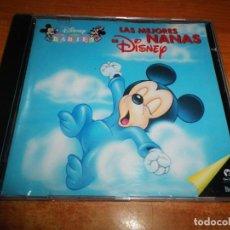 CDs de Música: LAS MEJORES NANAS DE DISNEY CD ALBUM DEL AÑO 1995 ENRIQUE SEQUERO GEMA CASTAÑO WEBO ANDREA BRONSTON. Lote 196116250