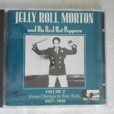 CDs de Música: MUSICA CD - EPM 982202 - JELLY ROLL MORTON AND HIS RED HOT PEPPERS - VOL. 2. Lote 196134987