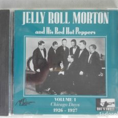 CDs de Música: MUSICA CD - EPM FDC 5108 - JELLY ROLL MORTON AND HIS RED HOT PEPPERS - VOL. 1. Lote 196135190