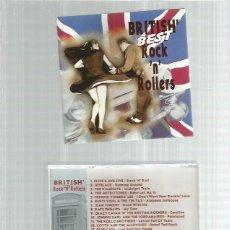 CDs de Música: BRITISH BEST ROCK ROLLERS. Lote 196158023