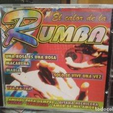 CDs de Música: EL CALOR DE LA RUMBA CD ALBUM 10 TRACK PEPETO. Lote 196165763