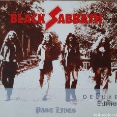 CDs de Música: BLACK SABBATH PAST LIVES 2 CDS. Lote 196197263