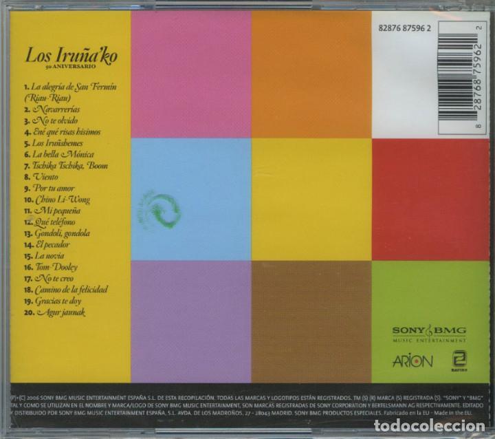 CDs de Música: LOS IRUÑA KO / 50 ANIVERSARIO / 2006 ZAFIRO ESPAÑA ¡¡¡PRECINTADO!!! - Foto 2 - 287793948