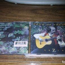 CDs de Música: PACO DE LUCIA - LUZIA. Lote 196323882
