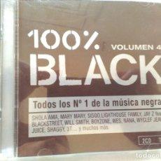 CDs de Música: 100% BLACK CD DOBLE. Lote 196324126