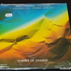 CDs de Música: DAVID FRIEDMAN - SHADES OF CHANGES MADE IN CANADA NUEVO PRECINTADO DIFICIL. Lote 196368992