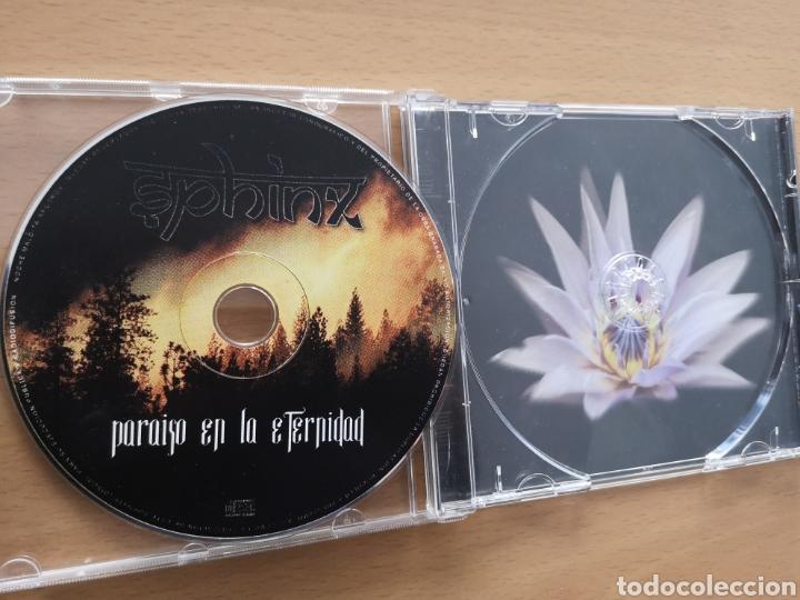 CDs de Música: SPHINX - PARAISO EN LA ETERNIDAD - Foto 3 - 196370223