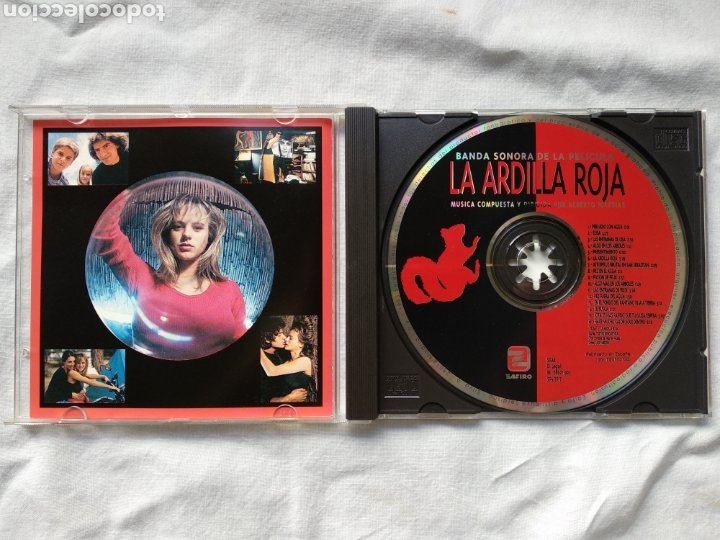CDs de Música: LA ARDILLA ROJA - ALBERTO IGLESIAS. ZAFIRO SOGETEL, 1992. MUY RARO - Foto 2 - 196494891