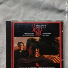 CDs de Música: LA ARDILLA ROJA - ALBERTO IGLESIAS. ZAFIRO SOGETEL, 1992. MUY RARO. Lote 196494891