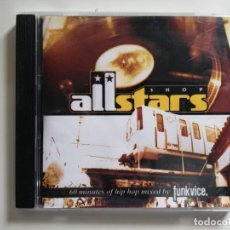 CDs de Música: FUNKVICE -60 MINUTES OF HIP HOP MIXED BY... CD ALLSTARS SHOP 2002. Lote 196507468