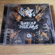 CDs de Música: EL GAROU Y LAMEKA55 - TERRITORIO EL GAROU Y LA MEKA 55 RARO -CD HIP HOP REGGAE. Lote 196511098