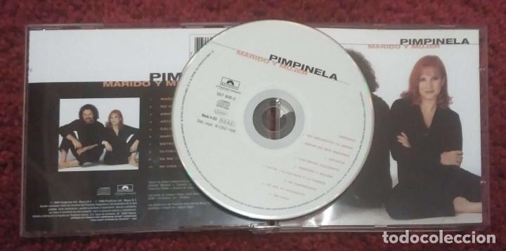 CDs de Música: PIMPINELA (MARIDO Y MUJER) CD 1998 - Foto 2 - 263181665