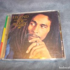 CDs de Música: THE BEST OF BOB MARLEY AND THE WAILERS. LEGEND. REMASTERED. TUFF GONG, 1984. CD. IMPECABLE. Lote 196523137