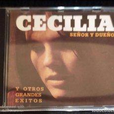 CDs de Música: CECILIA (SEÑOR Y DUEÑO Y OTROS GRANDES EXITOS) CD 1991. Lote 196523685
