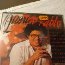 CDs de Música: CD DOBLE PABLO MILANES. QUERIDO PABLO.. Lote 196550612