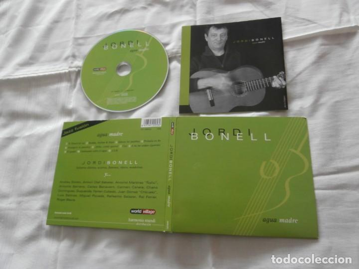 JORDI BONELL CD AGUA MADRE (2004) (JAZZ FUSION )+ REGALO SINGLE PROMO (Música - CD's Jazz, Blues, Soul y Gospel)
