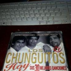 CDs de Música: PACK 2 CDS. LOS CHUNGUITOS. HOY. SUS 30 GRANDES CANCIONES. EDICION DEL 2000.. Lote 196635193