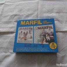 CDs de Música: MARFIL 2 CD´S - LOS SESENTA VOL 1 VOL 2 - FORMATO BOX CAJA CARTON LUJO -PRECINTADO - (2008). Lote 196641292