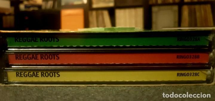 CDs de Música: ** 3 CDS** REGGAE ROOTS - VA (BOB MARLEY, CRUCIAL VIBES, LEONARD DILLON, DILLINGER,HEPTONES...) - Foto 2 - 196564224
