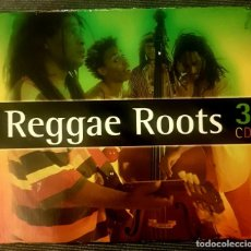 CDs de Música: ** 3 CD'S** REGGAE ROOTS - VA (BOB MARLEY, CRUCIAL VIBES, LEONARD DILLON, DILLINGER,HEPTONES...). Lote 196564224