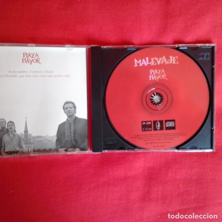 CDs de Música: PLAZA MAYOR. MALEVAJE 1998 - Foto 3 - 196734422