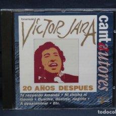 CDs de Musique: VICTOR JARA - 20 AÑOS DESPUES - CD . Lote 196752210