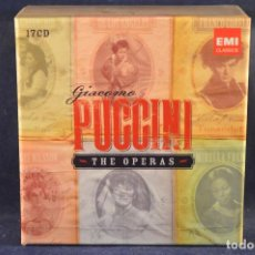 CDs de Música: GIACOMO PUCCINI - THE OPERAS - 17 CD . Lote 196758505
