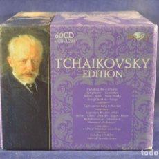 CDs de Música: PYOTR ILYICH TCHAIKOVSKY - TCHAIKOVSKY EDITION - 60 CD. Lote 196758728