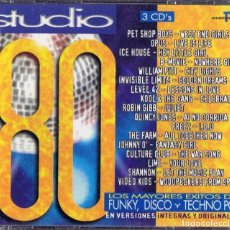 CDs de Música: STUDIO 80 ( 3 CD´S). Lote 196791356