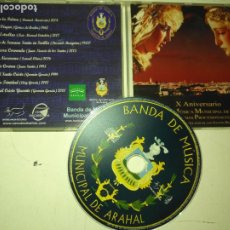 CDs de Música: SEMANA SANTA DE SEVILLA. CD BANDA MUSICA MUNICIPAL DE ARAHAL SEVILLA MARCHAS PORCESIONALES. Lote 196805766